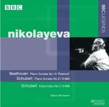 Tatiana Nikolayeva,Klavier, CD