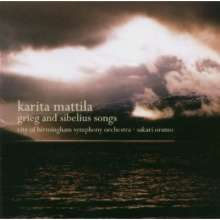 Karita Mattila - Grieg and Sibelius Songs, CD