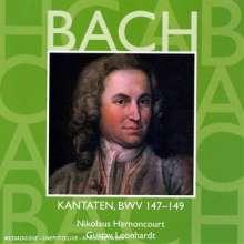 Johann Sebastian Bach (1685-1750): Kantaten BWV 147-149, CD