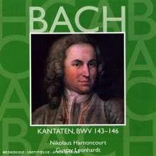 Johann Sebastian Bach (1685-1750): Kantaten BWV 143-146, CD