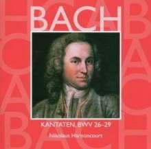 Johann Sebastian Bach (1685-1750): Kantaten BWV 26-29, CD