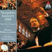 Das Neujahrskonzert Wien 2001, CD