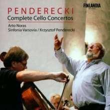 Krzysztof Penderecki (geb. 1933): Cellokonzerte Nr.1 & 2, CD