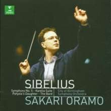 Jean Sibelius (1865-1957): Symphonie Nr.5, CD