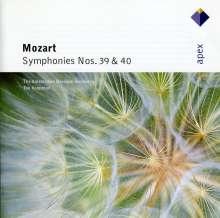 Wolfgang Amadeus Mozart (1756-1791): Symphonien Nr.39 & 40, CD
