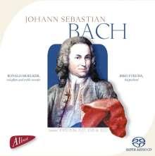 Johann Sebastian Bach (1685-1750): Flötensonaten BWV 1016,1017,1030,1032, SACD