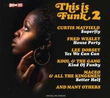 This Is Funk Vol. 2, CD