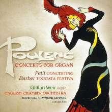 Francis Poulenc (1899-1963): Konzert für Orgel,Streicher & Pauken, SACD
