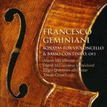 Francesco Geminiani (1687-1762): Sonaten für Cello & Bc op.5 Nr.1-6, SACD
