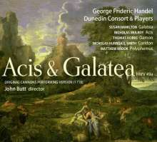 Georg Friedrich Händel (1685-1759): Acis und Galatea (Cannons Performing Version 1718), 2 SACDs