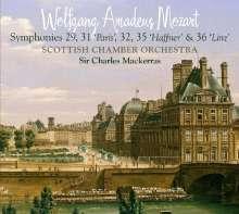 Wolfgang Amadeus Mozart (1756-1791): Symphonien Nr.29,31,32,35,36, 2 Super Audio CDs