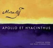Wolfgang Amadeus Mozart (1756-1791): Apollo & Hyacinthus KV 38, SACD