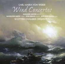 Carl Maria von Weber (1786-1826): Bläserkonzerte, SACD