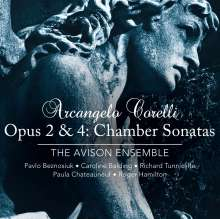 Arcangelo Corelli (1653-1713): Sonate da Camera op.2 & 4, 2 Super Audio CDs