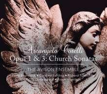 Arcangelo Corelli (1653-1713): Kirchensonaten op.1 Nr.1-12 & op.3 Nr.1-12, 2 CDs