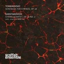 Peter Iljitsch Tschaikowsky (1840-1893): Serenade für Streicher op.48, Super Audio CD