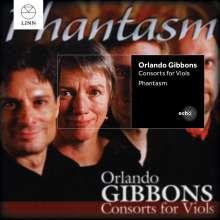 Orlando Gibbons (1583-1625): Consort for Viols, CD