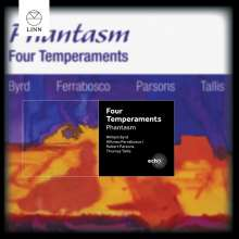 "Gambenquartett ""Phantasm"" - Four Temperaments, CD"