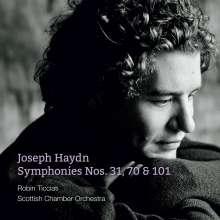 Joseph Haydn (1732-1809): Symphonien Nr.31,70,101, SACD