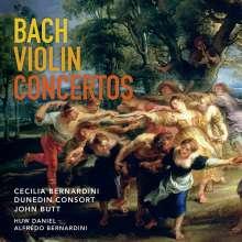 Johann Sebastian Bach (1685-1750): Violinkonzerte BWV 1041-1043, Super Audio CD