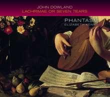 John Dowland (1562-1626): Lachrimae or Seven Tears (1604), CD