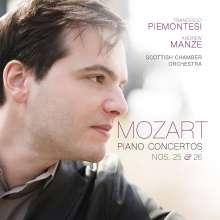Wolfgang Amadeus Mozart (1756-1791): Klavierkonzerte Nr.25 & 26, CD