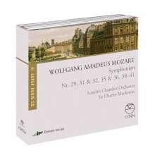 Wolfgang Amadeus Mozart (1756-1791): Symphonien Nr.29,31,32,35,36,39-41 (Exklusivset für jpc), 4 SACDs