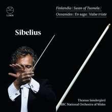 Jean Sibelius (1865-1957): König Christian II-Suite op.27, CD