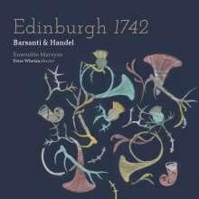 Edinburgh 1742 - Barsanti & Händel, CD