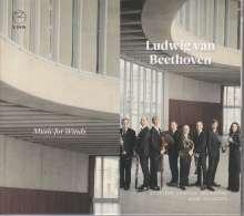 Ludwig van Beethoven (1770-1827): Kammermusik für Bläser, CD