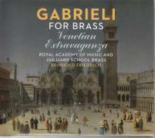 Royal Academy of Music and Juilliard School Brass - Gabrieli for Brass, CD