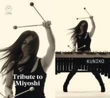 "Akira Miyoshi (1933-2013): Kammermusik für Schlagzeug ""Tribute to Miyoshi"", CD"