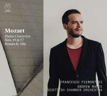 Wolfgang Amadeus Mozart (1756-1791): Klavierkonzerte Nr.19 & 27, CD
