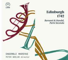 Edinburgh 1742 - Barsanti & Händel (Parte seconda), CD