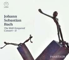 """Johann Sebastian Bach (1685-1750): Transkriptionen für Gamben-Consort - """"The Well-Tempered Consort II"""", CD"""