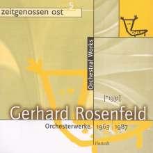 Gerhard Rosenfeld (1931-2003): Symphonie (1983), CD