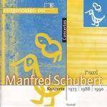 Manfred Schubert (1937-2011): Konzert für 2 Violinen & Orchester, CD