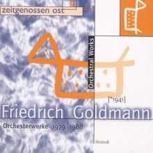 Friedrich Goldmann (1941-2009): Symphonie Nr.4, CD