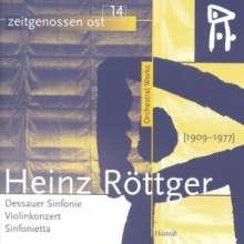 Heinz Röttger (1909-1977): Dessauer Symphonie, CD