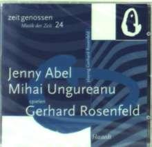 Gerhard Rosenfeld (1931-2003): Violinsonaten, CD