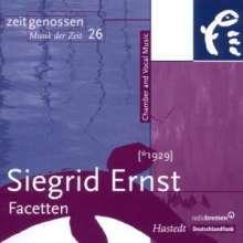 Siegrid Ernst (geb. 1929): Kammermusik & Vokales, CD