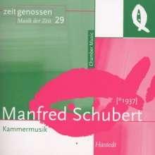 Manfred Schubert (1937-2011): Streichquartett Nr.2, CD