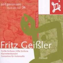 Fritz Geißler (1921-1984): Symphonien Nr.5 & 11, CD