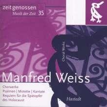 Manfred Weiss (geb. 1935): Chorwerke, CD
