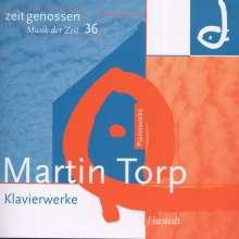 Martin Torp (geb. 1957): Klavierwerke, CD