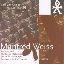 Manfred Weiss (geb. 1935): Kammermusik, CD