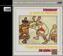 Igor Strawinsky (1882-1971): Le Sacre du Printemps, XRCD