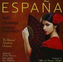 The National Symphony Orchestra - Espana, CD