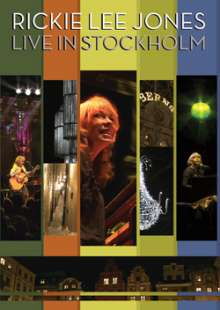 Rickie Lee Jones: Live In Stockholm 3.7.2010, DVD