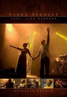 Klaus Schulze & Lisa Gerrard: Dziekuje Bardzo: Warsaw 25 Years Later, DVD